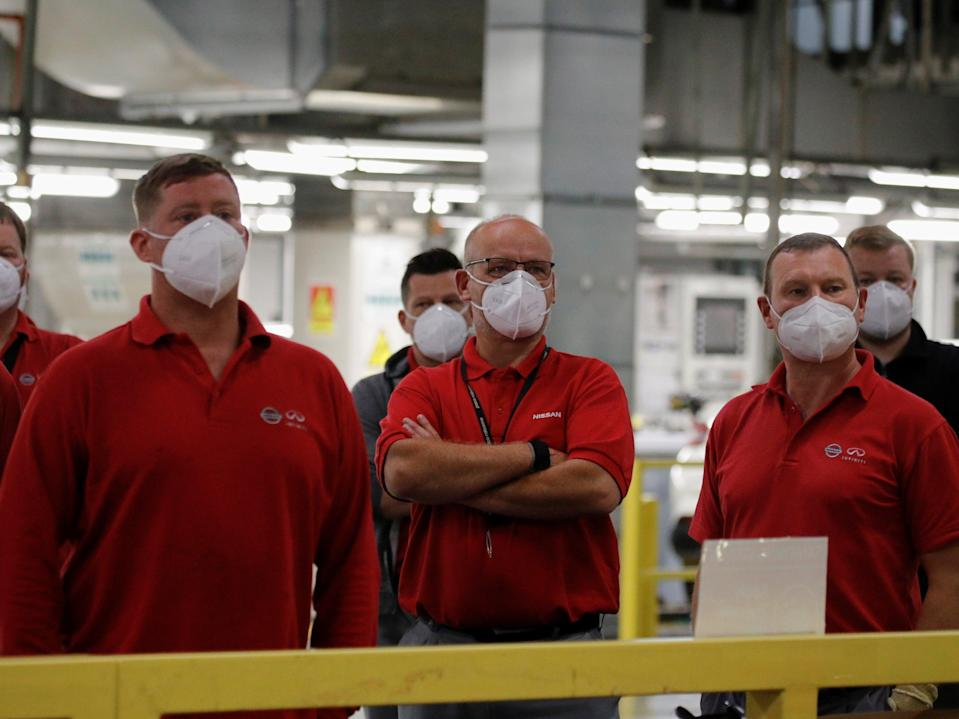 """Nissan's plans are not only """"a vital step forward in securing a cleaner, greener future"""" for the auto industry, but also mean greater job security for its Sunderland workers (Phil Noble/Reuters)"""