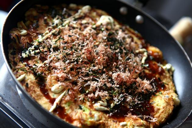 Japanese Street Food: Okonomiyaki Recipe