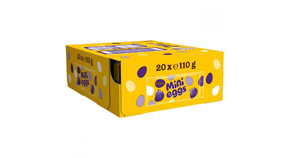 Cadbury Mini Eggs Chocolate Bar Box of 20