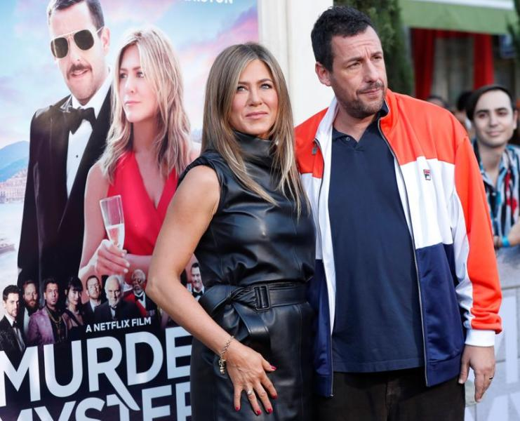 """Premiere for the film """"Murder Mystery"""" in Los Angeles"""