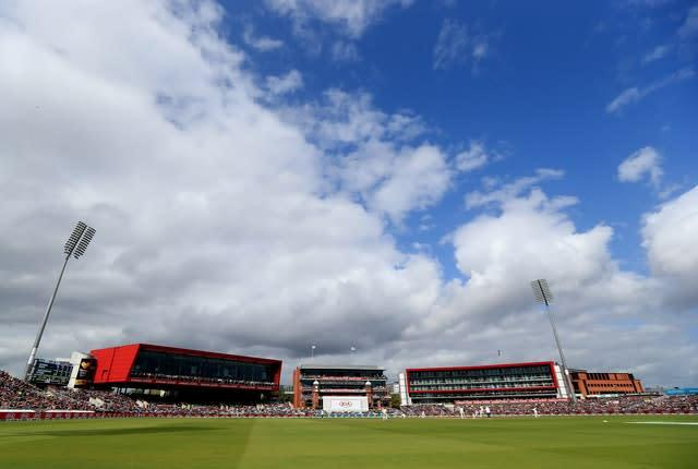 Emirates Old Trafford is seen as a possible host venue for 'bio-secure' cricket (Mike Egerton/PA)
