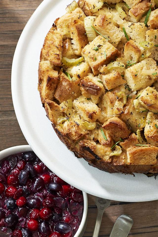"<p>Guests won't save room in their stomachs for pie after they take a bite of this stuffing rosemary-infused recipe.</p><p><strong>Get the recipe at <a rel=""nofollow"" href=""https://www.countryliving.com/food-drinks/recipes/a40026/rosemary-monkey-bread-stuffing-recipe/"">Country Living.</a></strong></p>"