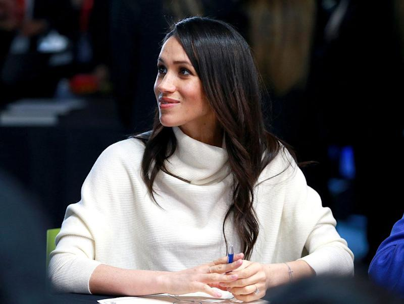 Meghan Markle Wore The Perfect Winter Sweater Today And You Can