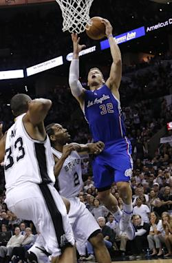 Blake Griffin had 26 points and 12 rebounds in Game 6. (AP)