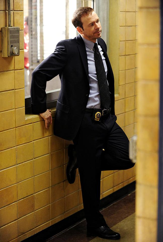 "Donnie Wahlberg stars as Danny Reagan in ""Blue Bloods."""