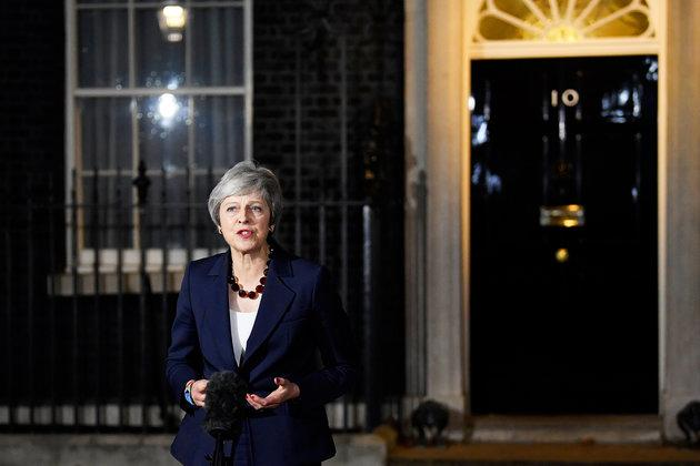 Theresa May has floated the prospect of ditching plans to leave the European