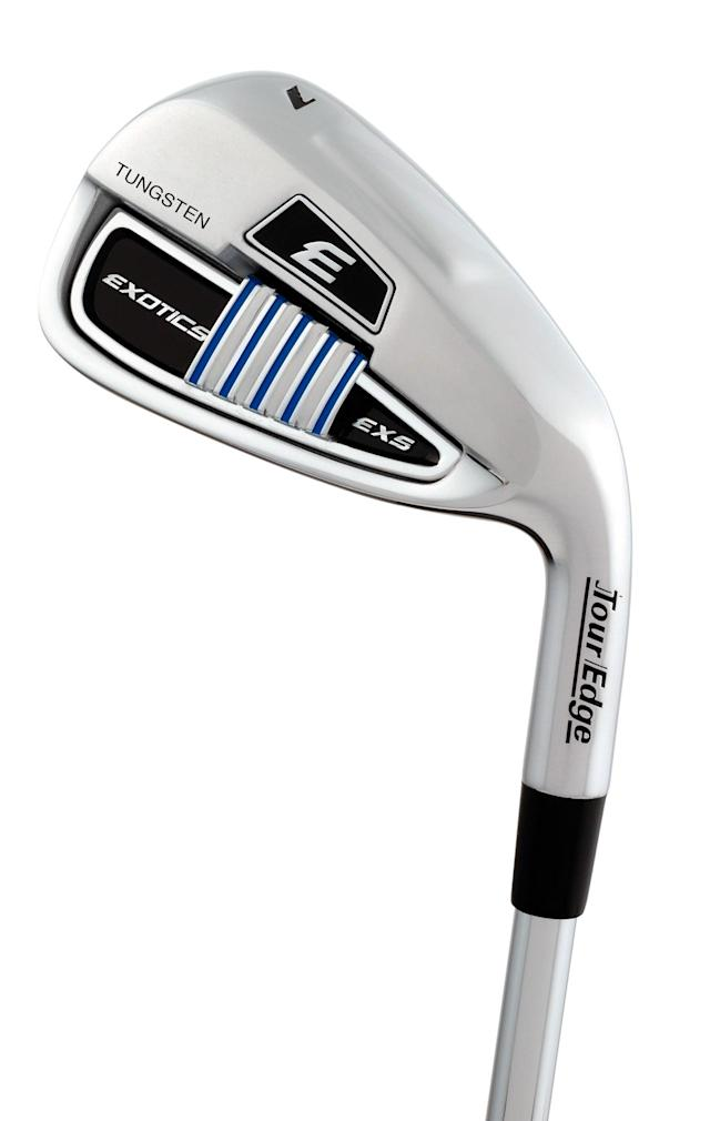 Tour Edge Exotics EXS irons make distance push with hollow design, multiple materials and strong lofts