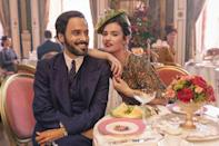 <p><strong>Release date: March 2021</strong></p><p>Based on the classic novel of the same name by Nancy Mitford, Pursuit of Love is an upcoming three-part period drama from the BBC, adapted by Emily Mortimer (who also stars in the series).</p><p>Following headstrong cousins Linda (Lily James) and Fanny, who travel across Europe between the two world wars, in the pursuit of finding perfect husbands. <br><br>Dominic West stars as Linda's father and Fleabag's Andrew Scott makes an appearance as their aristocratic neighbour Lord Merlin.</p>