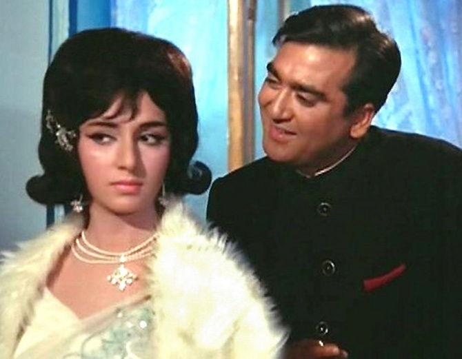 Vimi and Sunil Dutt