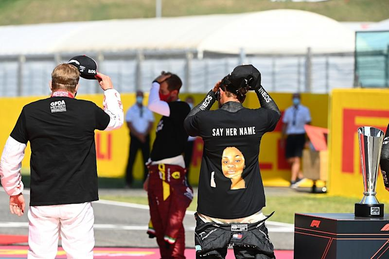 FIA looking into Hamilton anti-racism T-shirt