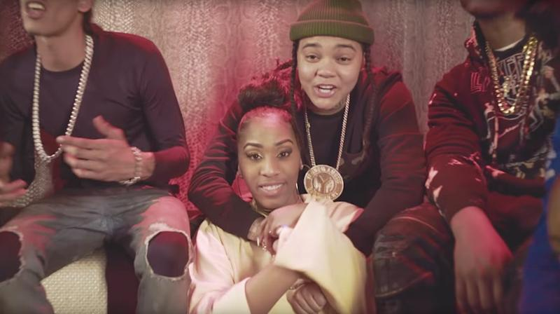 Watch Young M.A Explore Strip Club in 'Hot Sauce' Video