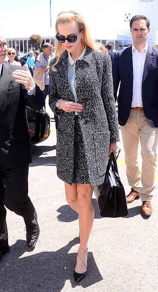 Nicole Kidman seen walking in Cannes, France.