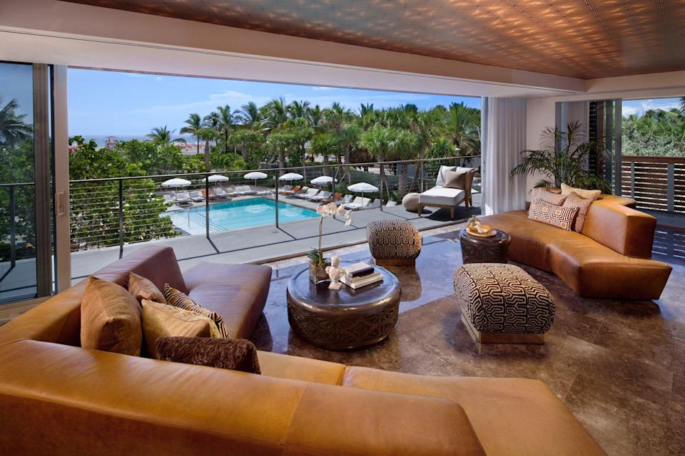 Villa Penthouse with view at SLS South Beach