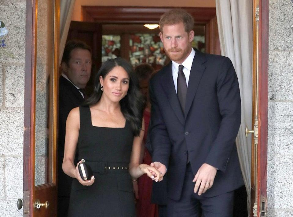 The Duke and Duchess of Sussex (Brian Lawless/PA) (PA Archive)