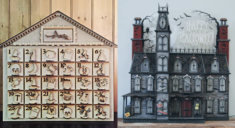 From Amazon to Etsy, you can get your hands on a Halloween advent calendar. [Photo: Etsy]