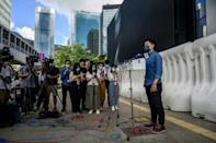 Democratic Party chairperson Lo Kin-hei says Hong Kongers need to keep civil society going