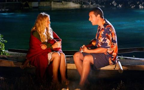 Drew Barrymore and Adam Sandler in 50 First Dates (2004) - Credit: Film Stills