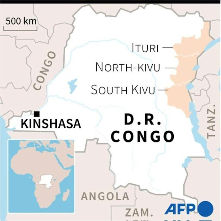 The Democratic Republic of Congo's troubled eastern provinces