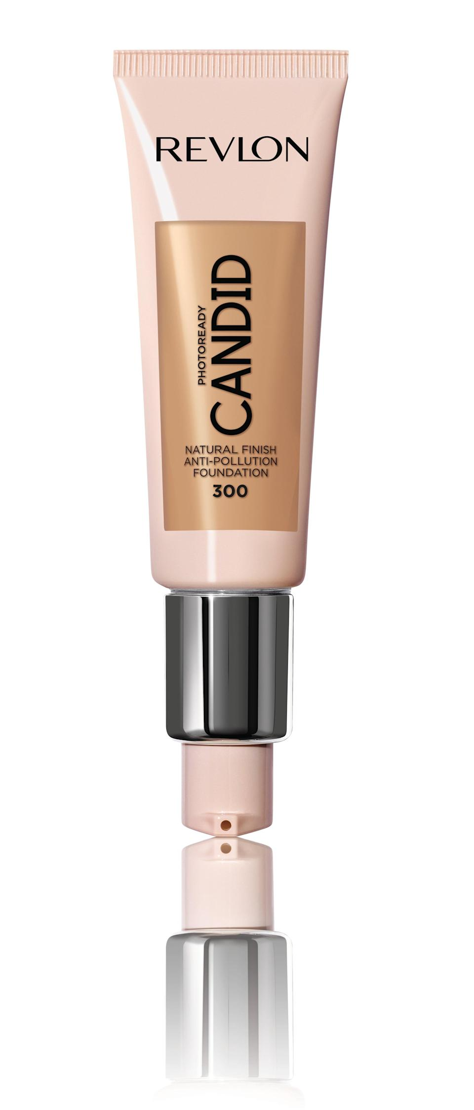 <p><span>Revlon PhotoReady Candid Natural Finish Anti-Pollution Foundation</span> ($9) completely covers up blemishes (with zero concealer necessary) but still somehow has a skin-like, lightweight finish. It's also formulated with antioxidants to ward off environmental aggressors.</p>