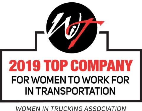 Ryder Named as a Top Company for Women to Work For by Women in Trucking Association