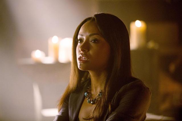 "Kat Graham as Bonnie in ""Growing Pains,"" the Season 4 premiere episode of ""The Vampire Diaries."""