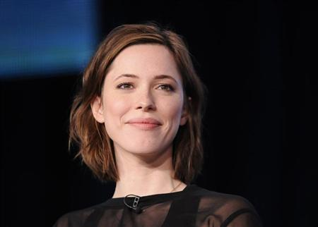 "British actress Hall takes part in a panel discussion of HBO's ""Parade's End"" during the 2013 Winter Press Tour for the Television Critics Association in Pasadena, California"