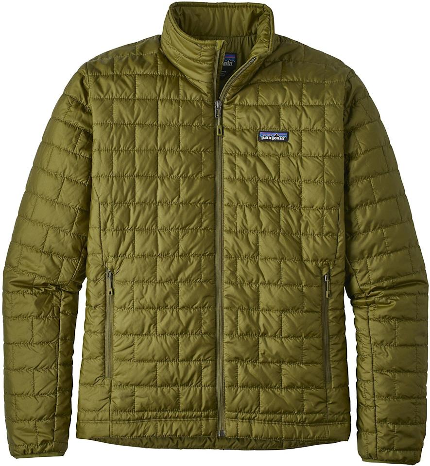 "<p><strong>Patagonia</strong></p><p>rei.com</p><p><a href=""https://go.redirectingat.com?id=74968X1596630&url=https%3A%2F%2Fwww.rei.com%2Frei-garage%2Fproduct%2F166842&sref=http%3A%2F%2Fwww.popularmechanics.com%2Fadventure%2Foutdoor-gear%2Fg29430531%2Frei-outlet-patagonia-sale%2F"" target=""_blank"">BUY IT HERE</a></p><p><del>$199.00</del><strong><br>$148.73</strong></p><p>Don't be fooled by its compact, slim silhouette; Patagonia's Nano Puff Jacket promises to protect you from the harsh winter chill. </p>"