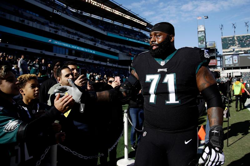 new concept 23ef5 af33d Eagles, Jason Peters agree to re-worked 2019 contract