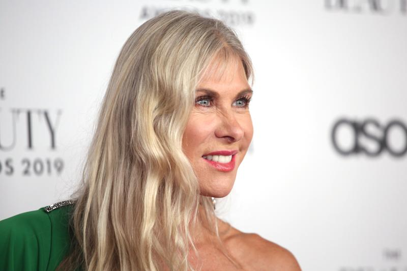 LONDON, ENGLAND - NOVEMBER 25: Sharron Davies attends The Beauty Awards 2019 on November 25, 2019 in London, England. (Photo by Lia Toby/Getty Images)