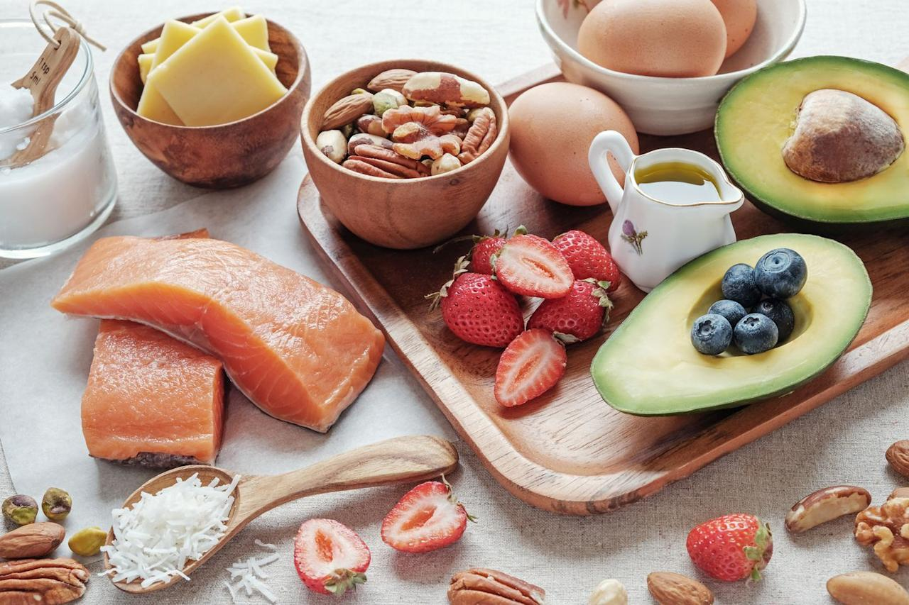 """<p>With celebrities like Kourtney Kardashian and <a rel=""""nofollow"""" href=""""https://www.prevention.com/health/health-conditions/a21967691/halle-berry-keto-diet/"""">Halle Berry</a> as fans, the low-carb diet has become quite popular. """"You may start losing weight in the beginning, but the diet is extremely restrictive, so many of the junk foods you may have been over-consuming aren't in your diet any longer but the diet itself is unsustainable,"""" says <a rel=""""nofollow"""" href=""""http://tobyamidornutrition.com/"""">Toby Amidor</a>, MS, RD, an award-winning nutrition expert and <em>Wall Street Journal </em>best-selling cookbook author. In addition, you might become <a rel=""""nofollow"""" href=""""https://www.prevention.com/weight-loss/diets/g21764082/keto-diet-side-effects/"""">constipated</a>, due to lack of whole grains, fruits, and vegetables.</p>"""
