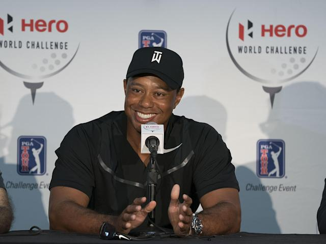 Tiger Woods is returning. (AP)