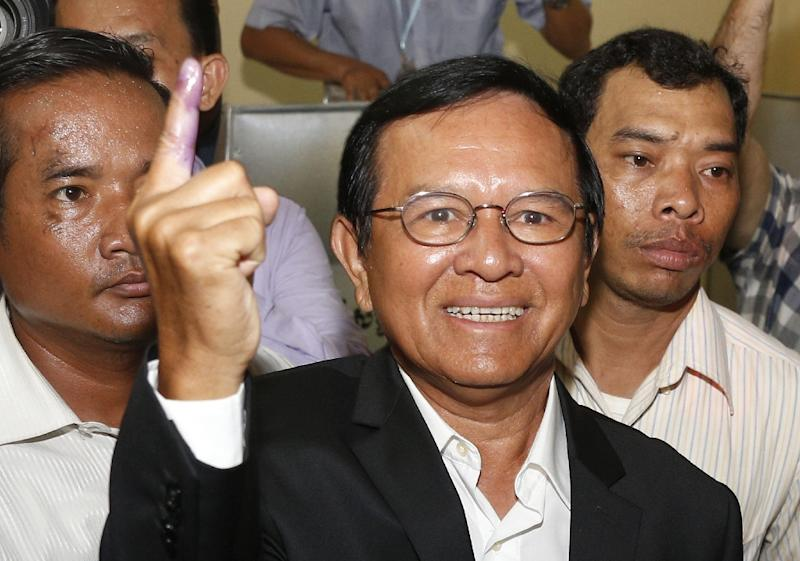 Kem Sokha was arrested early Sunday in a swoop by hundreds of security forces at his home in the Cambodian capital