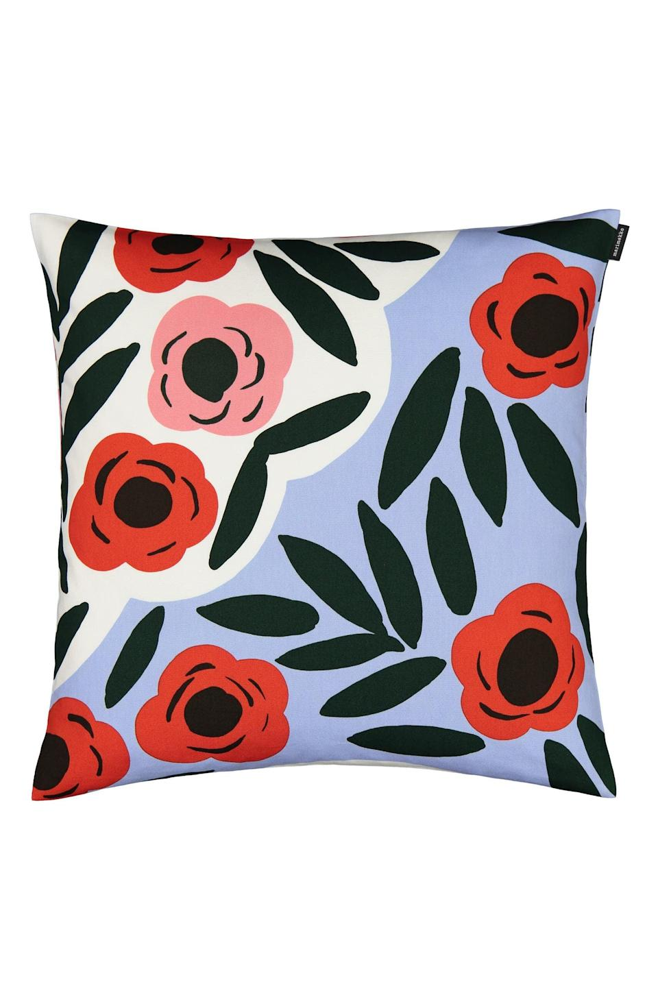 <p>We're always in the market for some new decor, and the <span>Marimekko Ruukku Ruukku Cushion Cover</span> ($27, originally $45) is too cute. It'll surely make any old sofa or bed feel like new.</p>