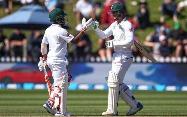Wellington Test: Quinton de Kock, Bavuma put Proteas 81 runs ahead of Kiwis