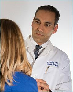 La Jolla California Plastic Surgeon Dr. Mark Mofid report that discourages injections of fat into the gluteus muscle.