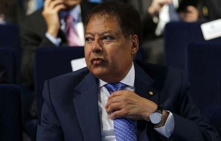U.S.-Egyptian Nobel prize-winning scientist Ahmed Zewail attends the Egypt Economic Development Conference (EEDC) in Sharm el-Sheikh, in the South Sinai governorate, south of Cairo, March 14, 2015.  REUTERS/Amr Abdallah Dalsh