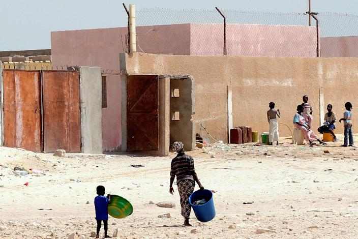 File picture shows a street in the city of Nouadhibou (AFP Photo/Seyllou Diallo)