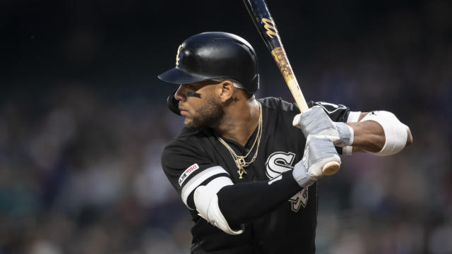 "<a class=""link rapid-noclick-resp"" href=""/mlb/players/9900/"" data-ylk=""slk:Yoan Moncada"">Yoan Moncada</a> has reportedly agreed to a five-year extension with the <a class=""link rapid-noclick-resp"" href=""/mlb/teams/chi-white-sox/"" data-ylk=""slk:White Sox"">White Sox</a>. (AP Photo/Stephen Brashear)"