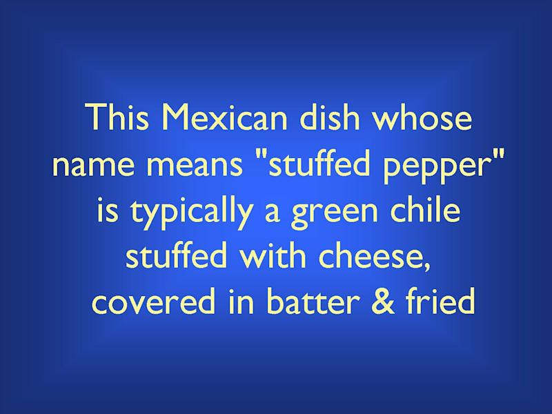 What is Chile Relleno?