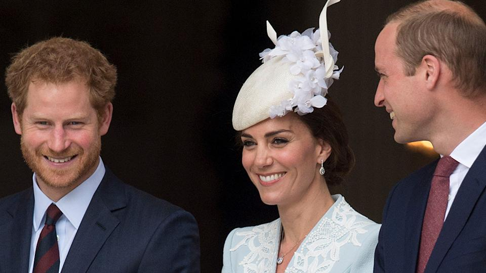 It's been revealed in a new documentary that Prince Harry made a 'selfless' sacrifice for Kate Middleton and Prince William. Photo: Getty
