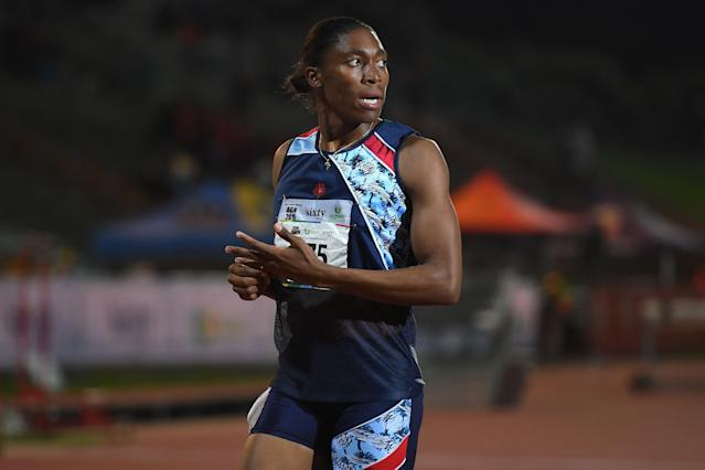 """<a class=""""link rapid-noclick-resp"""" href=""""/olympics/rio-2016/a/1103690/"""" data-ylk=""""slk:Caster Semenya"""">Caster Semenya</a> has lost her appeal on testosterone regulations with the Court of Arbitration for Sport. (STRINGER/AFP/Getty Images)"""