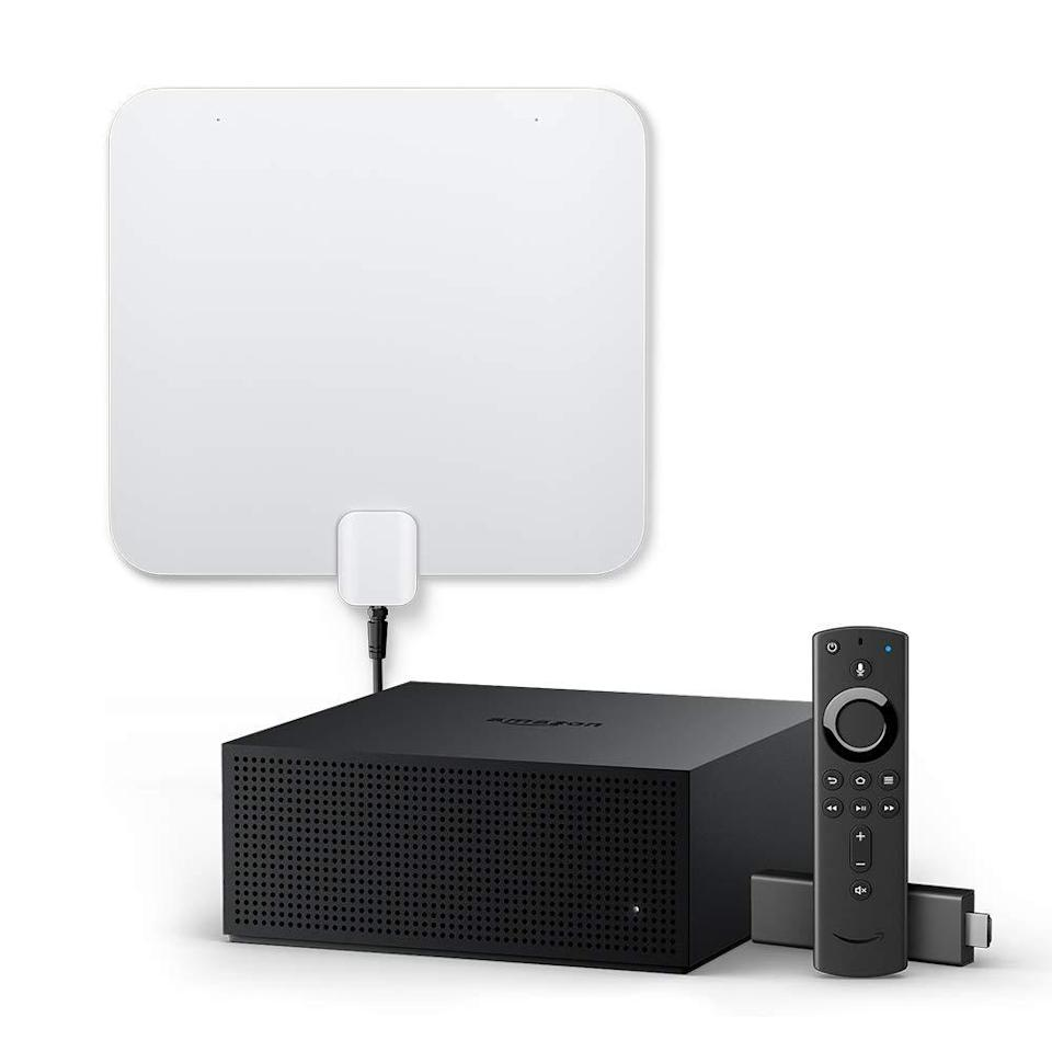 Fire TV Recast (DVR) bundle with Fire TV Stick 4K and an HD antenna. (Photo: Amazon)