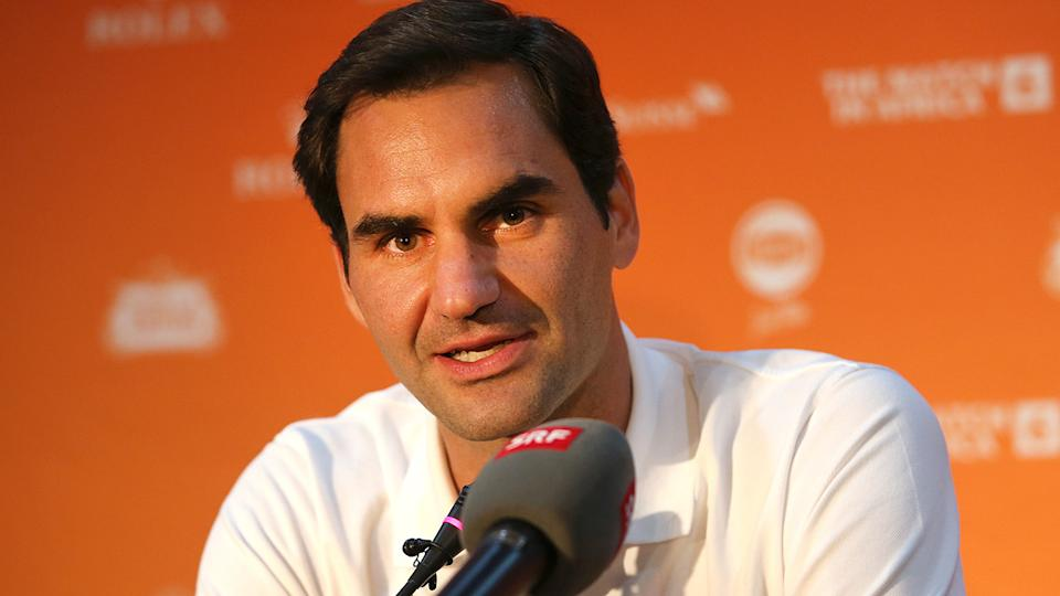 Roger Federer is set to make his long-awaited return from injury at the Qatar Open. (Photo by Reg Caldecott/Gallo Images/Getty Images)