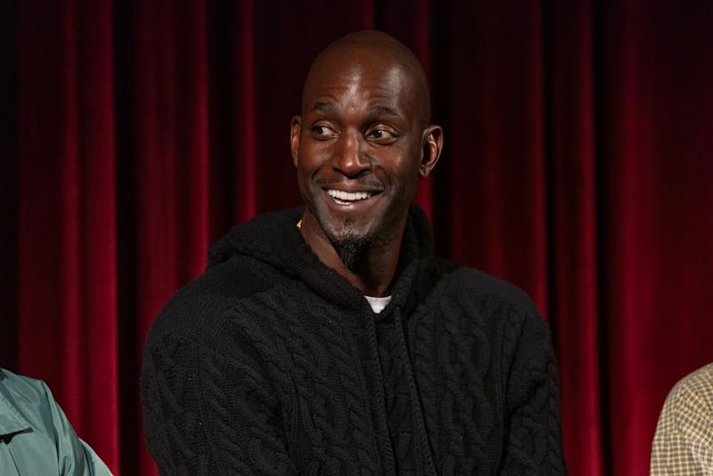 Kevin Garnett has a lot of strong feelings about facing LeBron James in the 2010 and 2012 NBA playoffs. (Photo by Mark Sagliocco/Getty Images for The Academy of Motion Picture Arts & Sciences )