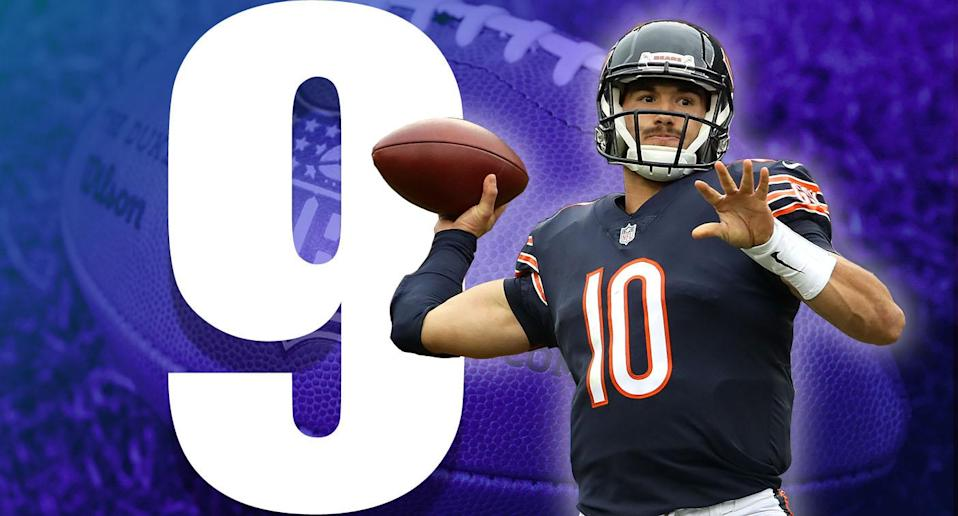 <p>In a weird scheduling quirk, the Bears have four games in a row against the AFC East after their bye. The good news is the AFC East stinks, and the one tough game against the Patriots is in Chicago. (Mitchell Trubisky) </p>