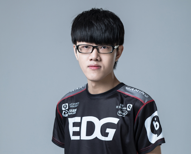 Minn has joined EDward Gaming as a top laner in the 2017 season (EDG weibo)