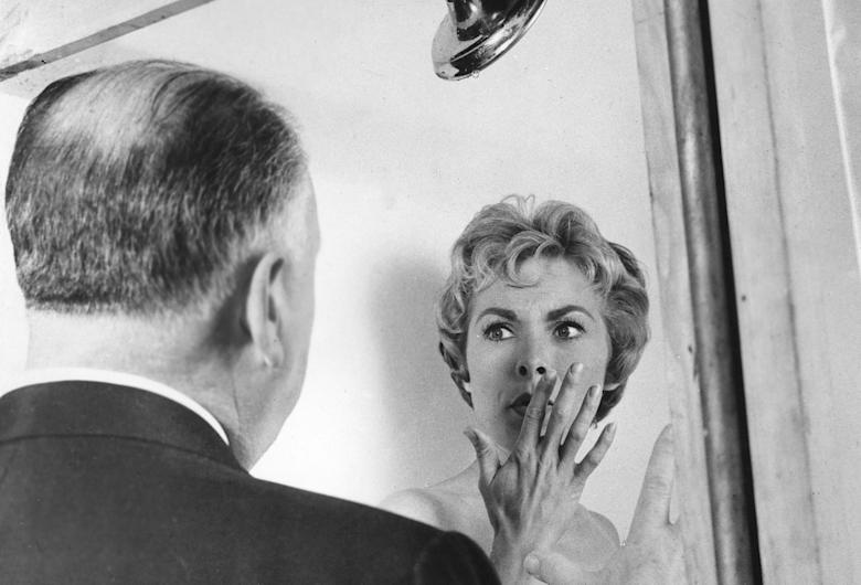 Psycho shower scene hitchcock janet leigh
