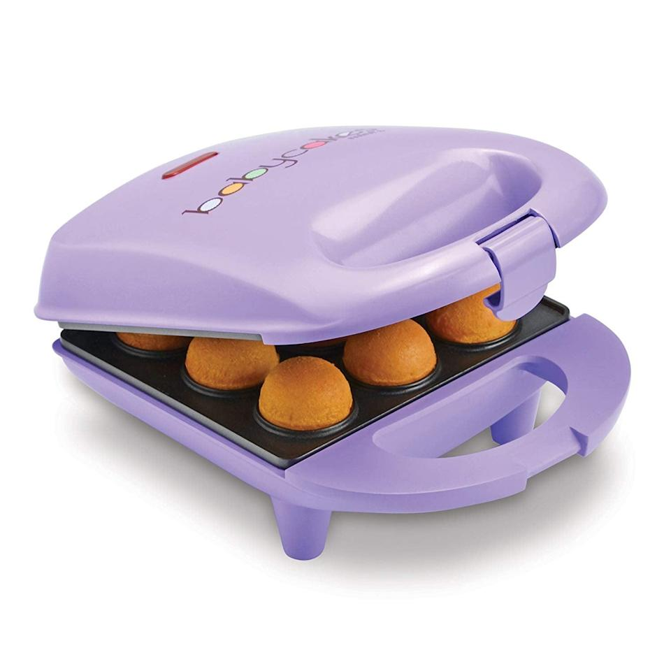 <p>Sweet treats are just a few minutes away with this <span>Babycakes Mini Cake Pop Maker</span> ($23). They can create all the cake pops their heart desires in any flavor they wish with this handy tool. It makes nine cake pops in one go!</p>