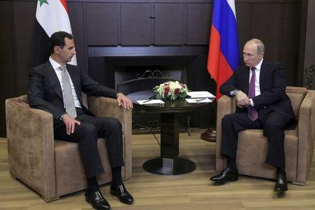 After Surprise Assad Visit, Putin Vows to Address Syria With Trump