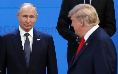 Trump says would not mind releasing details of his conversations with Putin